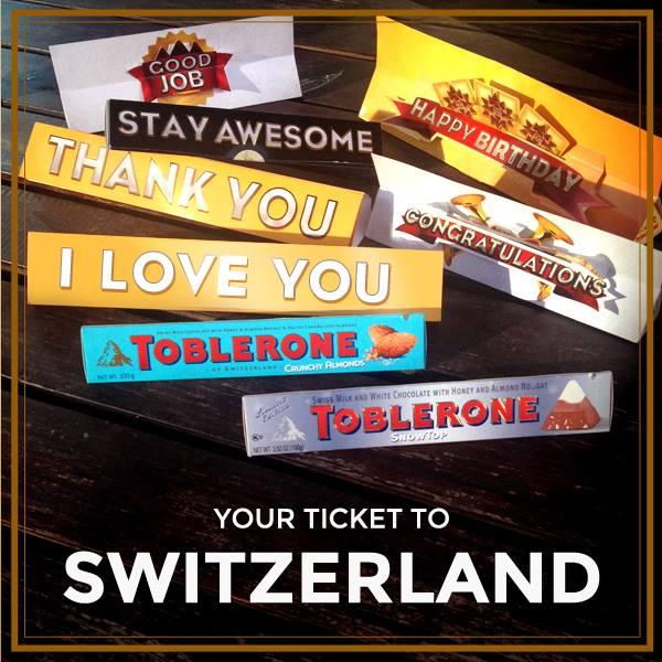 Toblerone Philippines Instagram Contest