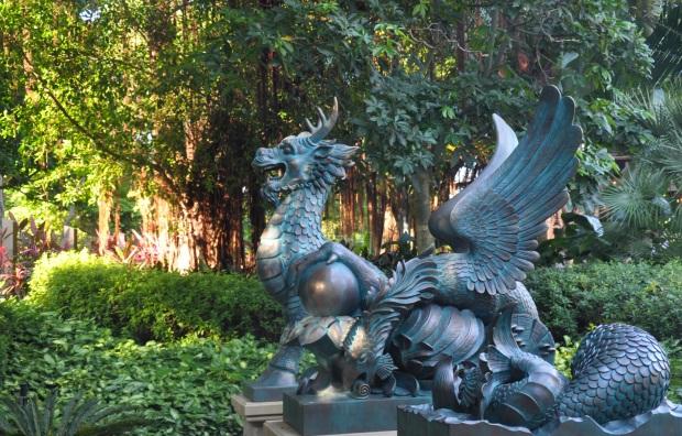 Hong Kong Disneyland Garden 2
