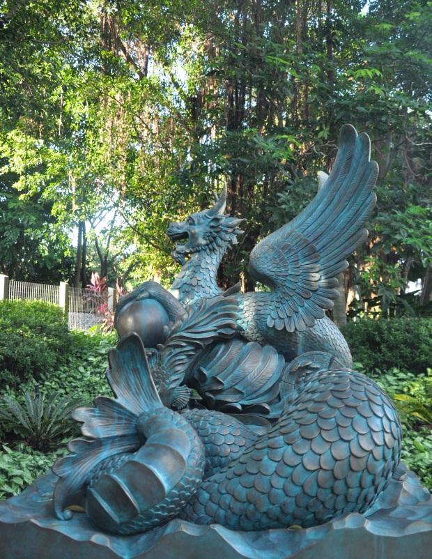 Hong Kong Disneyland Garden 3