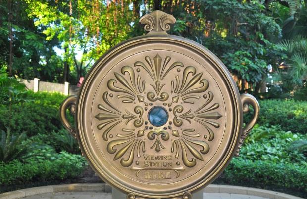 Hong Kong DisneyLand garden