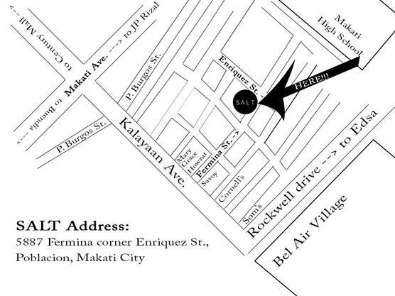 SALT Makati Map